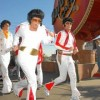 Elvis Presley Running Las Vegas Marathon