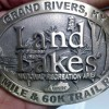 Land Between the Lakes 50 mile 60k trail run belt buckle