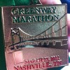 Greenway Marathon Medal 2011