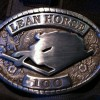 Lean Horse 100 Mile Ultra Marathon Belt Buckle (2011)
