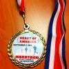 Heart of American Marathon Medal (2011)