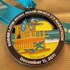 Latin Music Miami Beach Half Marathon Medal – 2011