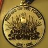 2012 Swamp Stomper 50K Medal