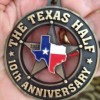 The Texas Half Marathon 2012 Medal