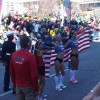 USA Women Finish Line Photo – Desiree Davila, Shalane Flanagan, Kara Goucher