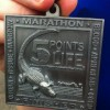 5 Points of Life Marathon Medal- 2012