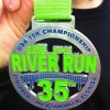 2012 Gate River Run 15K Medal
