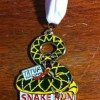 6 Hour Snake Run Medal