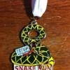 6 Hour Snake Run Medal