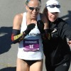 Leah Thorvilson – 2012 Little Rock Marathon Winner – Victory Line OMG