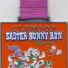 Clemson Easter Bunny Run Half Marathon Medal – 2012