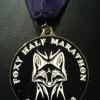 Foxy Half Marathon Medal – 2012
