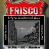 Frisco Railroad 50 Mile Run Medal Image