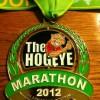 Hogeye Marathon Medal – 2012