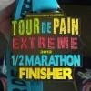 Tour De Pain Extreme Half Marathon Medal – 2012