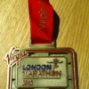 Virgin London Marathon Medal – 2012