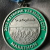 Keybank Vermont City Marathon Medal – 2012