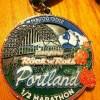 Rock N Roll Portland Half Marathon Medal – 2012