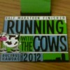 Running With The Cows Half Marathon – 2012