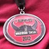 Warrior Dash Arkansas Medal – 2012