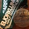 Garry Bjorkland Half Marathon Medal – 2012