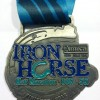 Iron Horse Half Marathon Medal – 2012