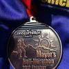 Mayors Half Marathon Medal 2012