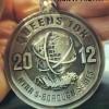 Queens 10K Medal – 2012