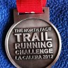 The North Face Trail Running Challenge Medal 2012