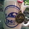 Rail to Trail Council of NEPA Half Marathon Medal (2012)