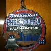 Rock 'n' Roll Philadelphia Half Marathon Medal – 2012 – Sean Higgins – Run It Fast