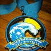 Rock n Roll Virginia Beach Half Marathon Medal 2012