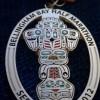 Bellingham Bay Half Marathon Medal (2012)