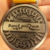 Bupa Great South Run Medal 2012