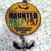 Hauted Half Marathon Medal 2012