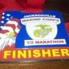 Jacksonville Marine Corps Half Marathon Medal – 2012