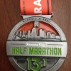 Kansas City Half Marathon Medal 2012