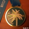 Torbay Half Marathon Medal 2012