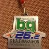 BG Marathon Medal 2012