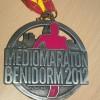 Benidorm Half Marathon Medal 2012