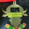 Catalina Island Eco-Marathon Medal – 2012 – Run It Fast