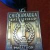 Chickamauga Battlefield Marathon Medal 2012 2