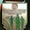 Delaware Lehigh Heritage Marathon Medal – 2012 – Run It Fast