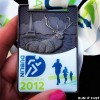 Dublin Marathon Medal 2012