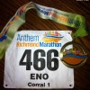 Richmond Marathon Medal 2012