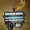 RnR Savannah Half Marathon Medal 2012