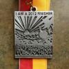 Schaumburg Half Marathon Turkey Trot Medal 2012