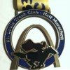 St Louis Track Club Half Marathon Medal – 2012 – Run It Fast
