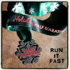 Holiday Half Marathon Medal – 2012 – Run It Fast