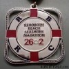 Rehoboth Beach Seashore Marathon Medal – 2012 – Run It Fast